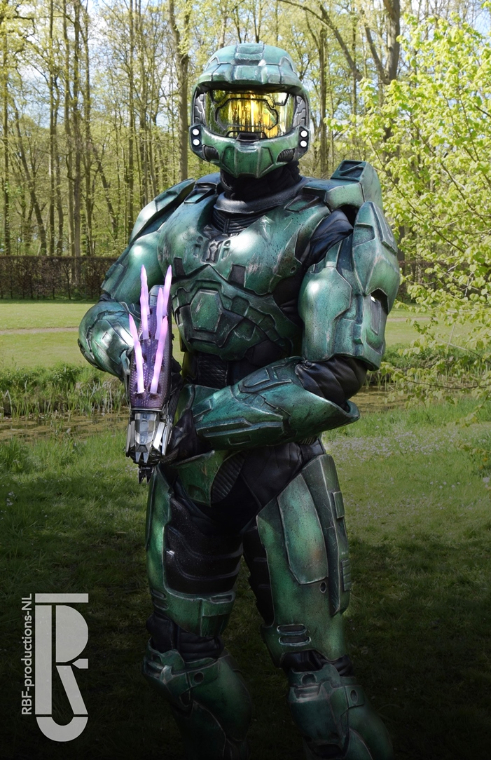 Halo 2 - Master Chief cosplay by RBF-productions-NL