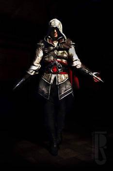 AC2 - Ezio Auditore Da Firenze Cosplay Costume