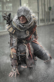 Ac Origins - Bayek out of the Animus - cosplay