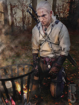 The Witcher 3 - Geralt of Rivia cosplay costume