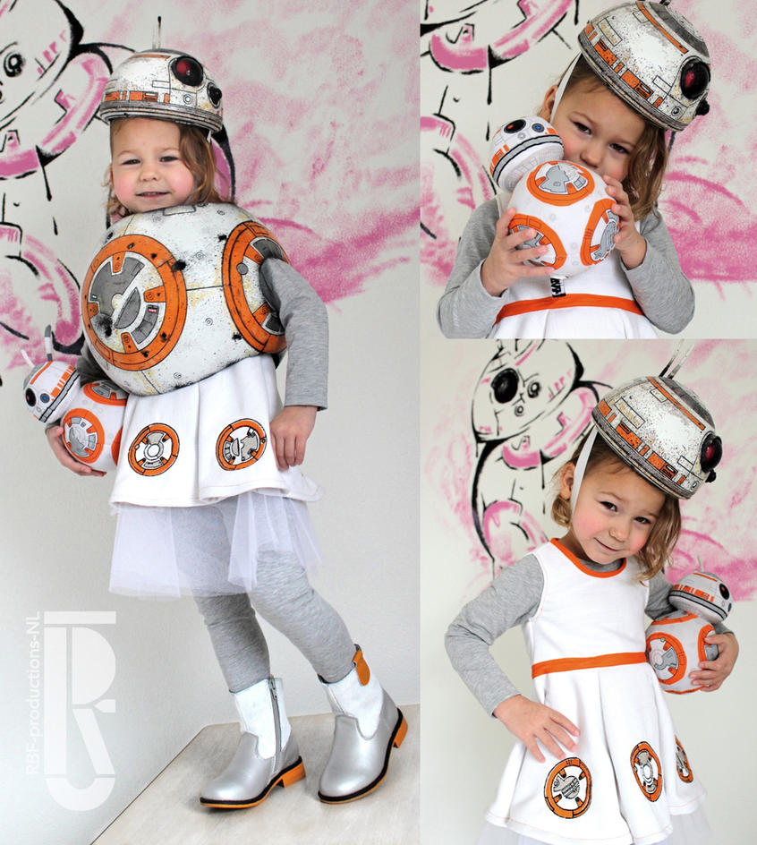 STAR WARS - BB8 costume cosplay by RBF-productions-NL