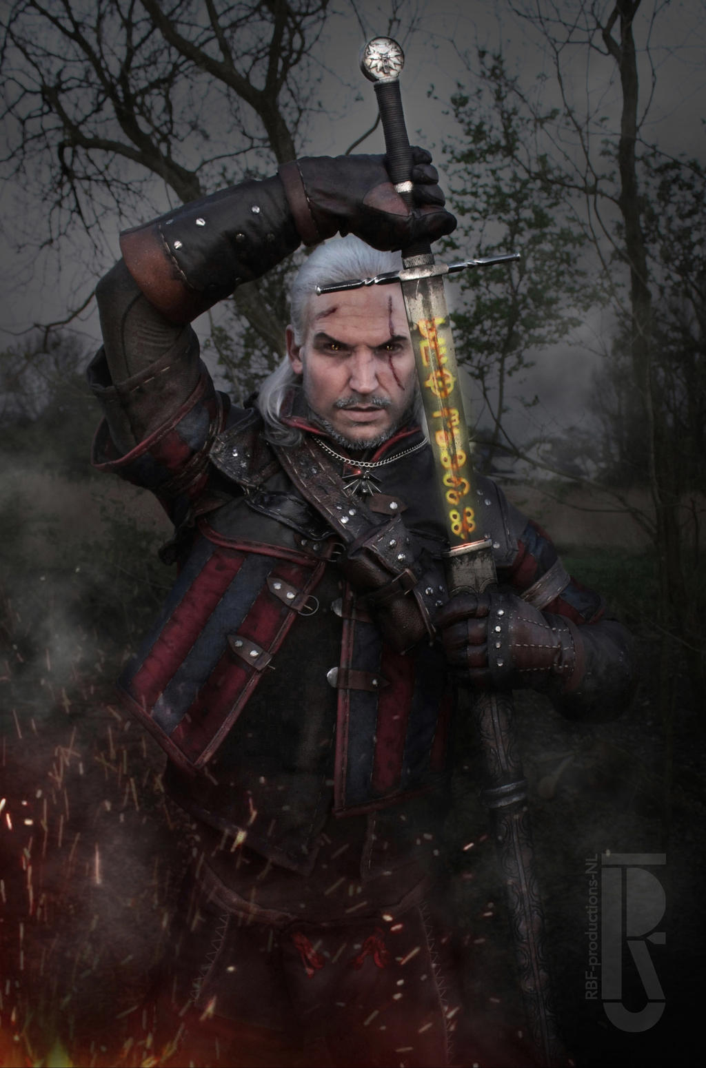 The Butcher of Blaviken - Geralt of Rivia cosplay by RBF-productions-NL