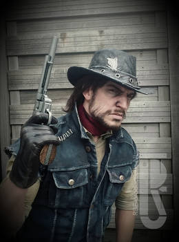 Red Dead Redemption - John Marston cosplay WIP by RBF-productions-NL