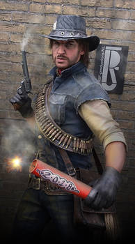 A Red, Dead new Year - marston cosplay