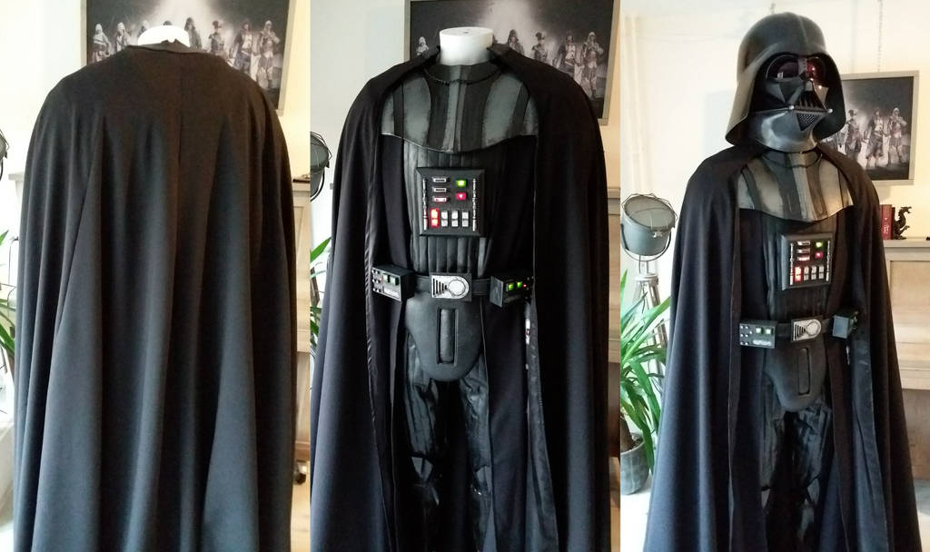 Darth Vader cape progress by RBF-productions-NL