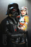 Darth Vader and Baby Luke costumes by RBF-productions-NL