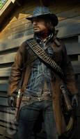 Red Dead Redemption - John Marston cosplay