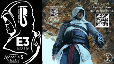 Assassin's Creed Altair cosplay costume V2.0