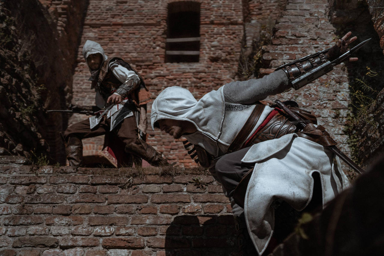 Assassin S Creed Altair And Ezio Cosplay By Rbf Productions Nl