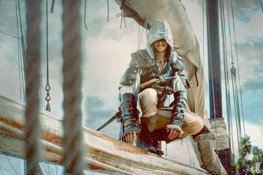 AC - Blackflag Edward Kenway new cosplay pic
