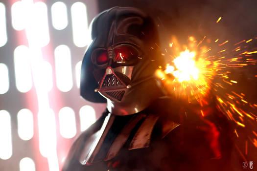 Darth Vader costume photoshoot december 2019 - 1