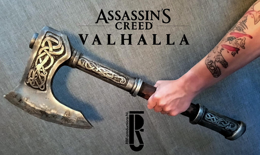 Ac Valhalla Eivor S Axe Cosplay Costume Prop By Rbf Productions Nl On Deviantart
