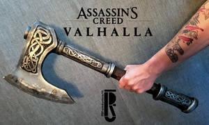 AC Valhalla - Eivor's axe cosplay / costume prop