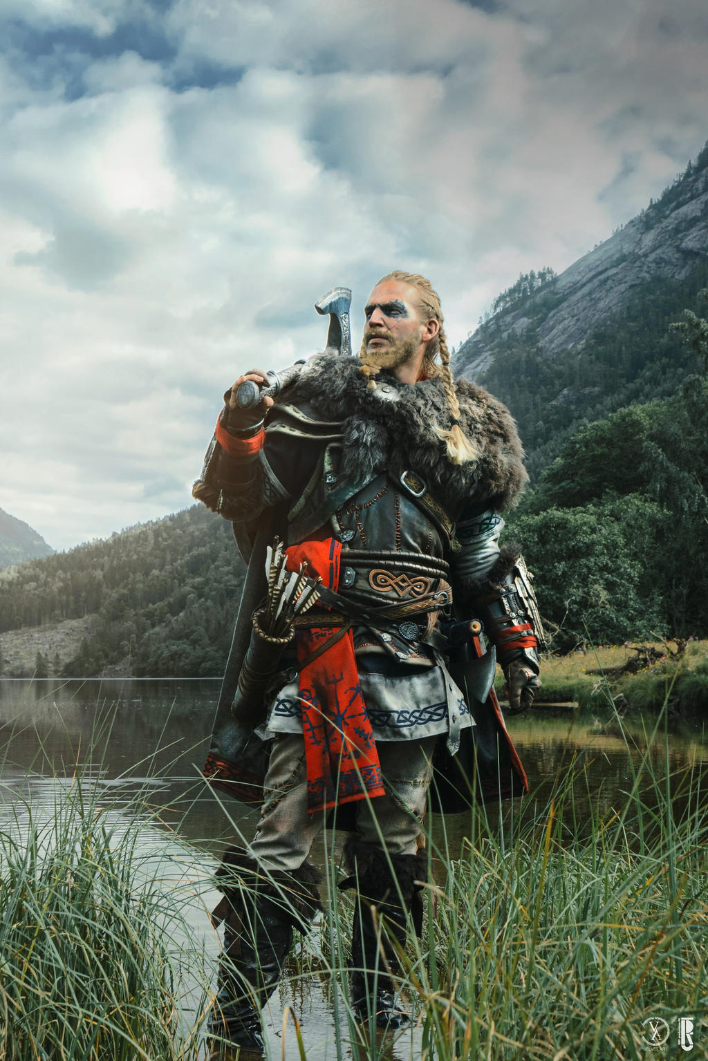 Ac Valhalla Eivor Costume Cosplay Complete By Rbf Productions Nl On Deviantart