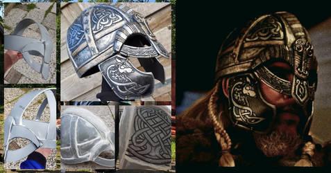 AC-Valhalla Eivor's helmet cosplay progress