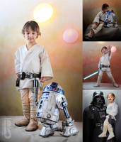 Luke: 3 years old!