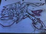 Shark in Graffiti