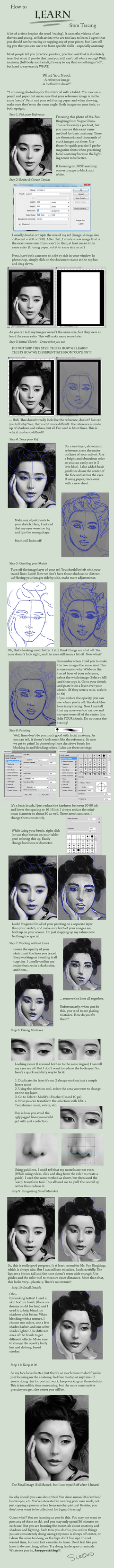 How to LEARN from Tracing by Sirquo