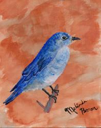 Bluebird by Melindotty