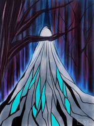 The white lady by Ai-Memoria