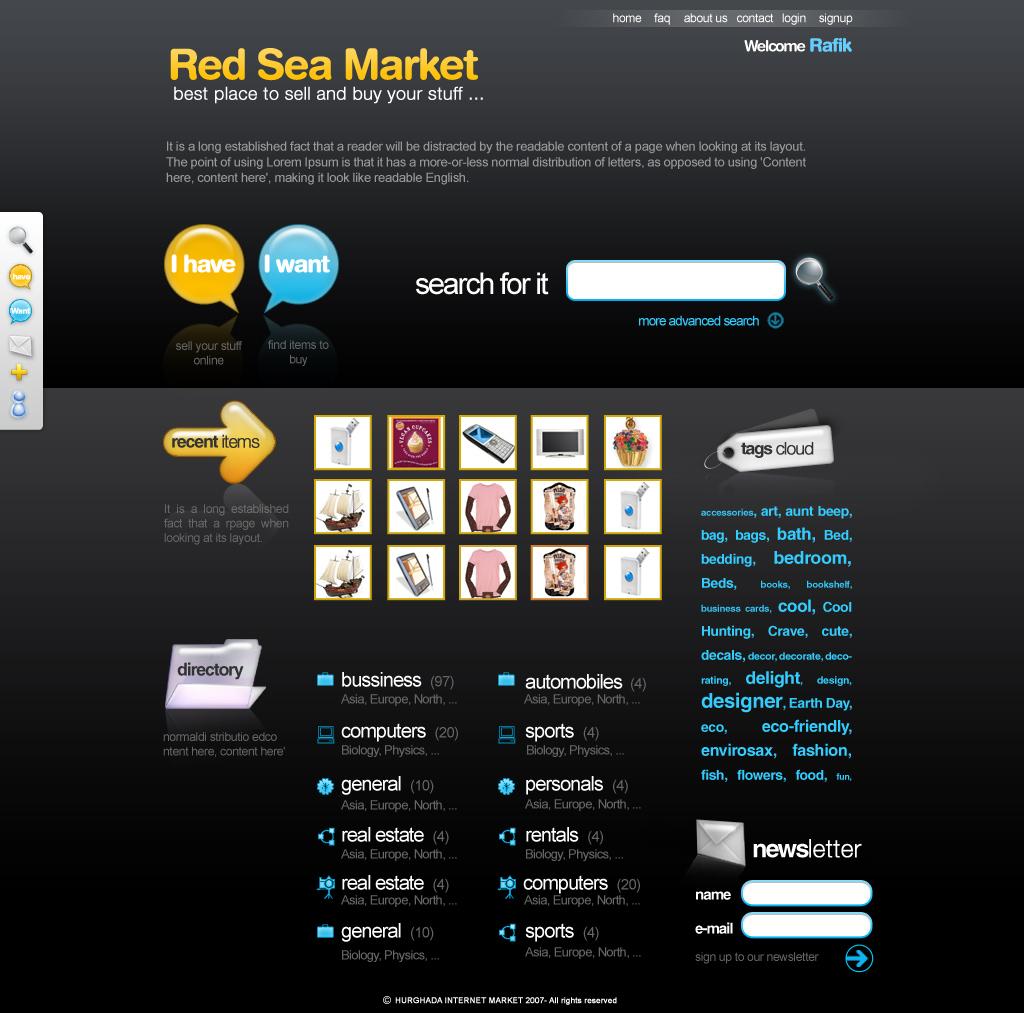 Red sea market by ramywafaa