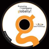 Global Promotions CD label by ramywafaa