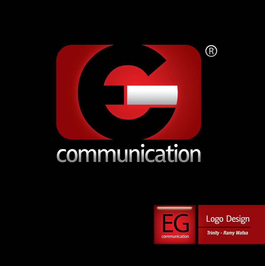 EG Communication Logo by ramywafaa