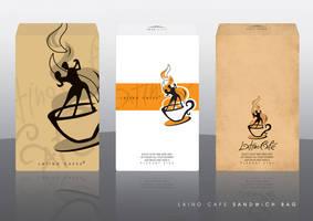 latino cafe sandwich bag by ramywafaa