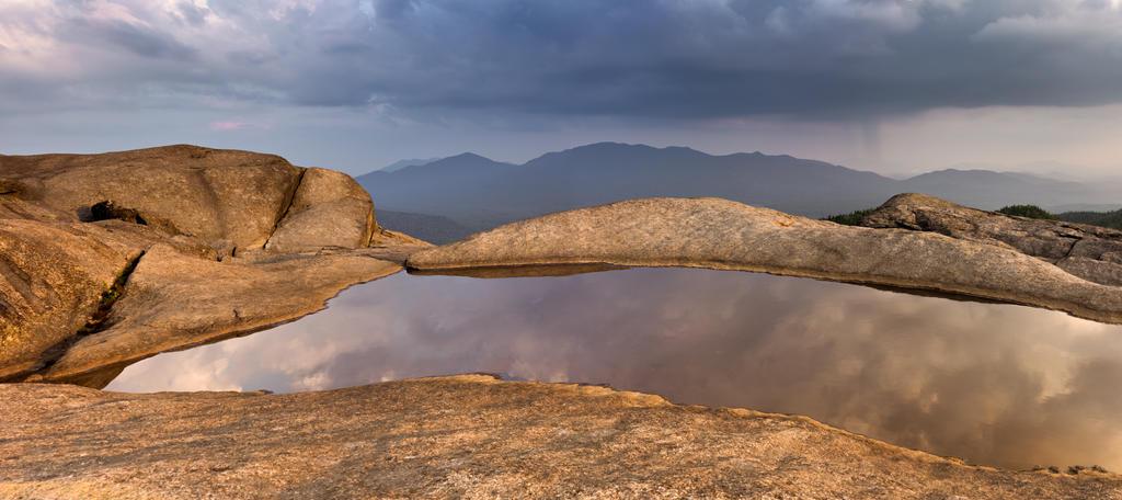 Mt Ampersand Peak Pano