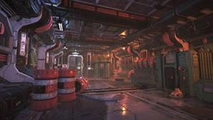 Unity3D Sci-Fi Enviornment