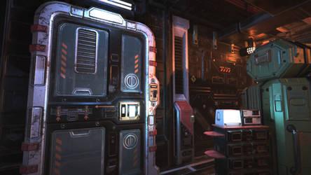 Unity3D Sci-Fi Enviornment 2 by UNGDI-SEA