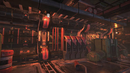 Unity3D Sci-Fi Enviornment 3 by UNGDI-SEA