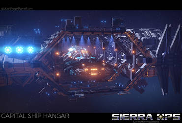 Sierra Ops: Capital Ship Hangar