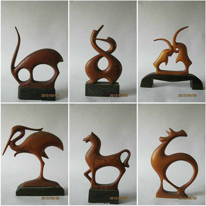 Woodcarving animal series by linwang on deviantart