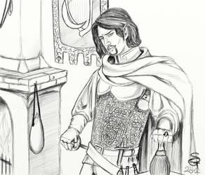 Altein Din - arpiist spy by SilenceGoddess