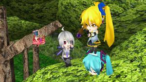 Chibi Teto,Haku,and Neru DL by knuxfan23