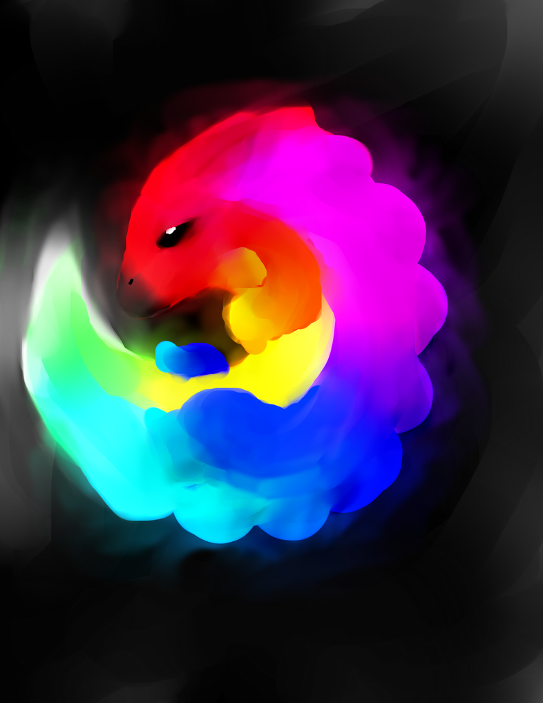 Paint Dragon thingy by knuxfan23