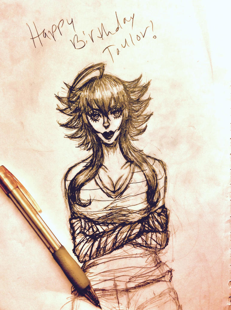 Happy birthday Taylor! by knuxfan23