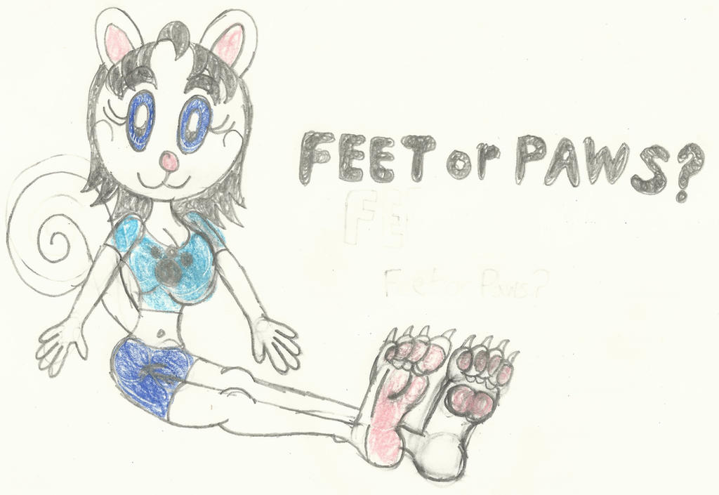 Lois Squirrel: Feet or Paws? by LouisEugenioJR