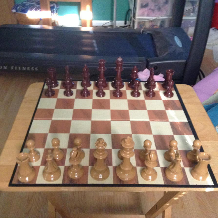 Chess Set by LouisEugenioJR