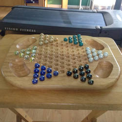 Chinese Checkers Set by LouisEugenioJR