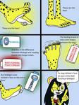 Kathy the Cheetah's Mobigel Ad by LouisEugenioJR