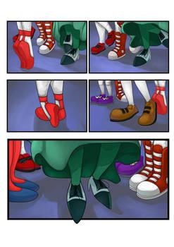Sonic OC Girls: Dancing Feet Page 6