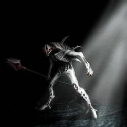 Bionicle - Rahkshi Kurahk by Infernis76