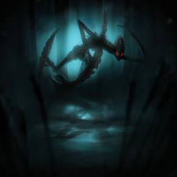 Bionicle - Makuta Krika by Infernis76