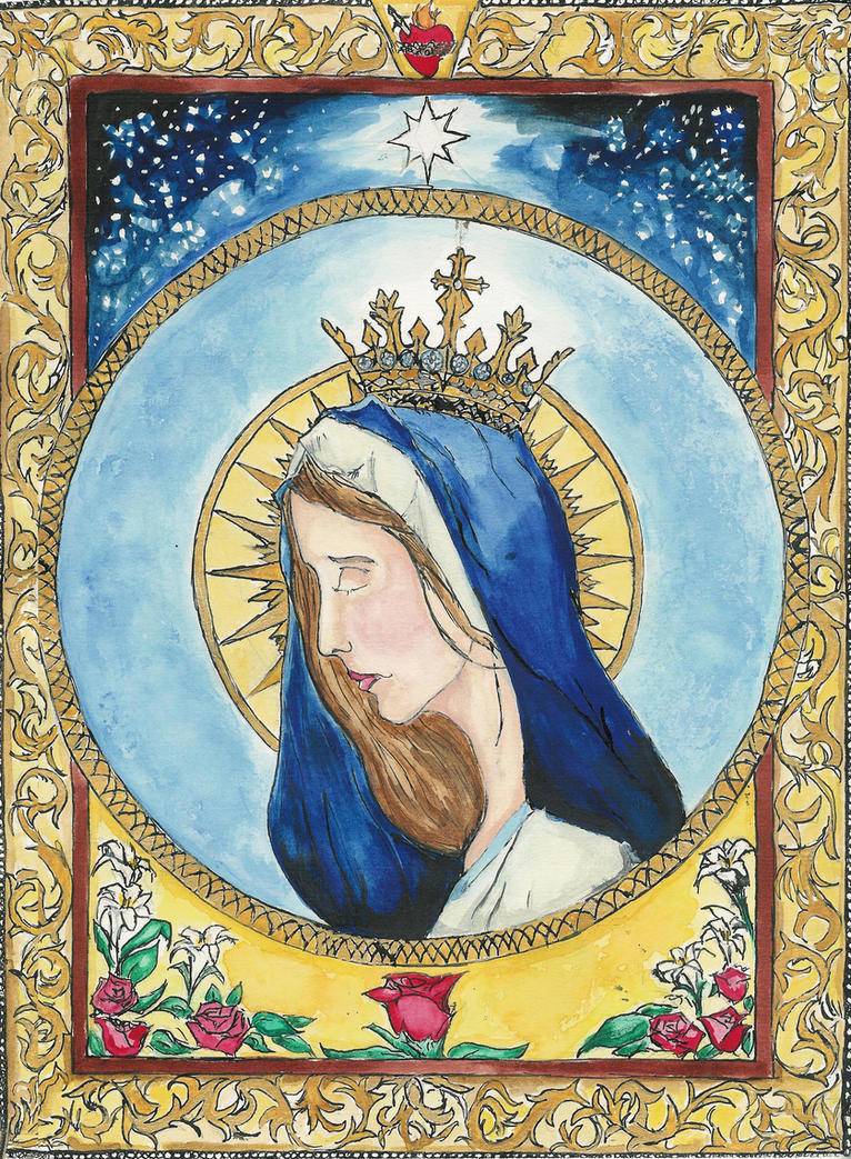 The Queen of Heaven by Aodhagain