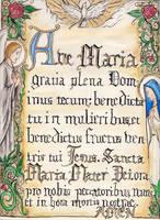 Ave Maria by Aodhagain