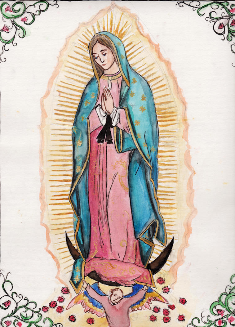 Our Lady of Guadalupe by Aodhagain