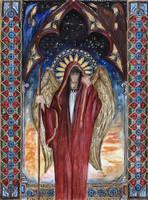 St. Raphael by Aodhagain
