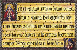 Sub Tuum Praesidium by Aodhagain